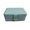 Beautiful jewelry box with heart shape lock