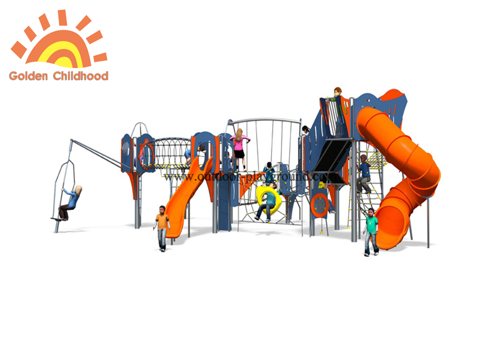 Mutiplay Outdoor Plastic Climbing Slide Equipment