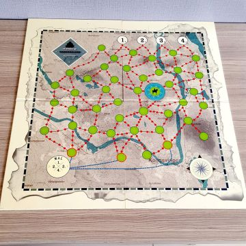Custom Paper game board with cards box