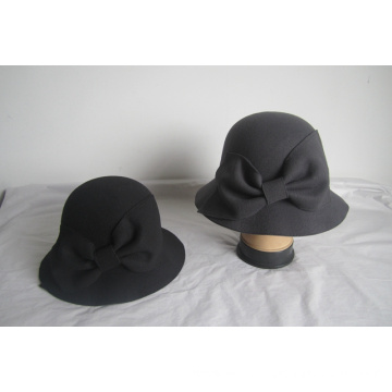 Women's Faux Wool Felt  Church Hats--YJ77