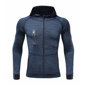 Men compression quick trying hoodies