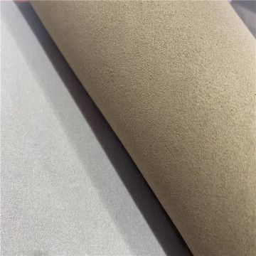 Wholesale Recycled Suede Microfiber Leather for Bag Shoes