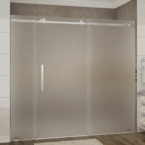 8mm 10mm Frosted Toughened Shower Room Glass Panel