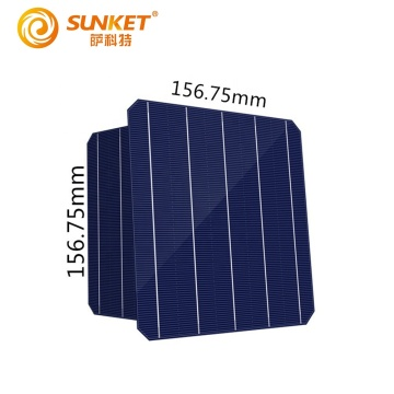 mono photovoltaic solar cells 156*156mm