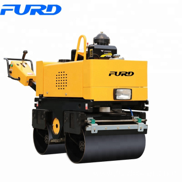 double drum road roller walk-behind soil and land compaction machines(FYL-800CS)