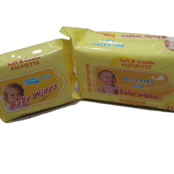 100PCS Baby Cleaning Wet Wipes Machine Price