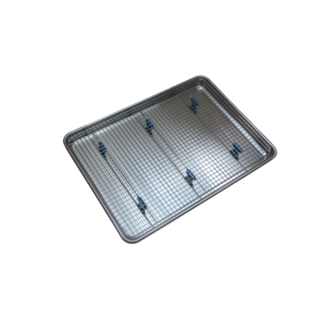 Half Sheet Baking Pan and Bakeable Cooling Rack