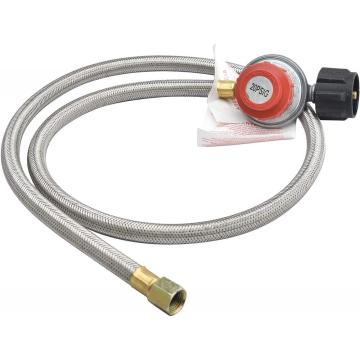 20PSI High Pressure Adjustable Propane Regulator Hose Set