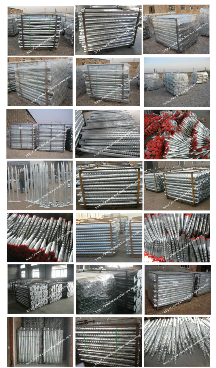 Galvanized Fence Pole Anchor