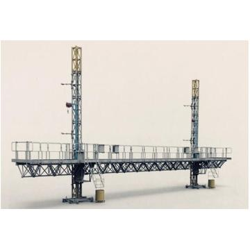 Tower crane suspension platform
