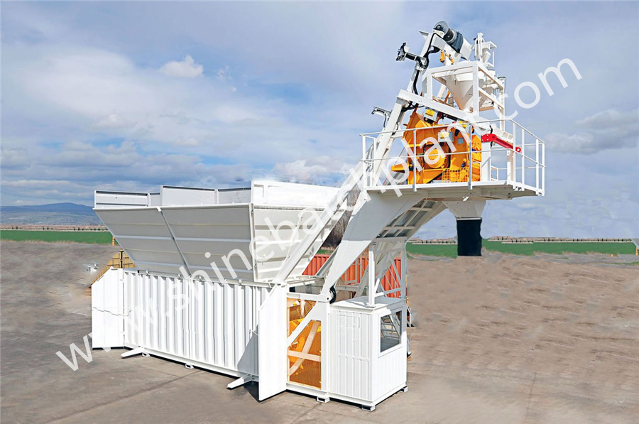 60 Mobile Batching Plant 01