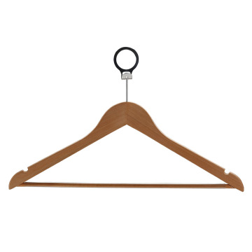 Luxury Classical Style Custom Walnut Wooden Hanger