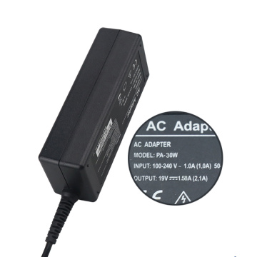 MINI Portable 19V1.58A AC DC Adapter Power Supply