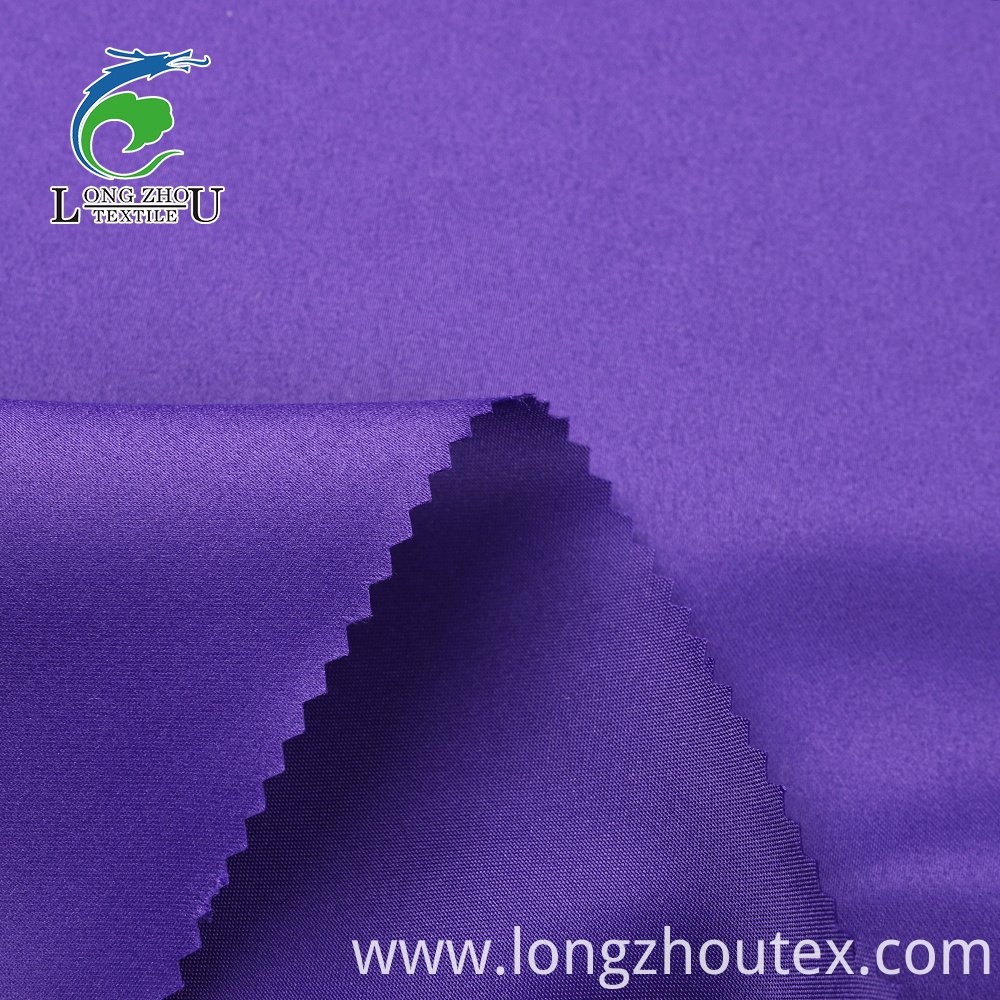 100D Wedding Satin Dull Satin Without Twist Fabric
