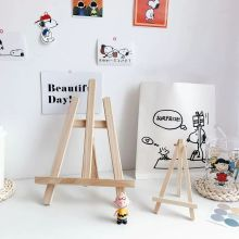 Foldable Desktop Wooden Holder For iPad Mobile Phone Tablet PC Stand Holder Book Holder Mini Easel big and small