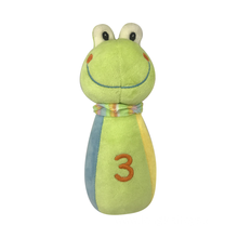 Baby Green Rattle Frog Toy
