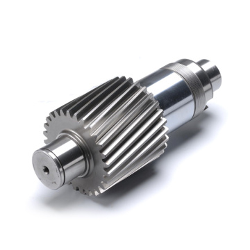 forged steel gear shaft for reducer machine