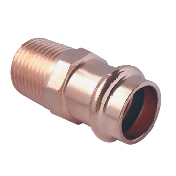 Copper Press Male Adapter