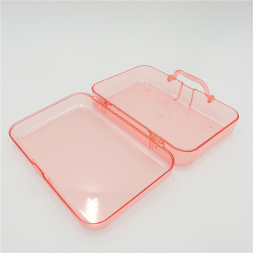 ABS transparent plastic box lid