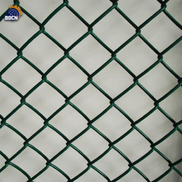 90cmx10m PVC Green Chain Link Fence