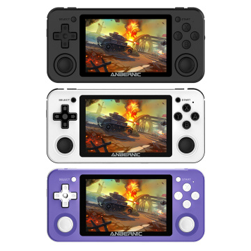 RG351P POWKIDDY Retro Game Console RK3326 HD Version Open Source System PC Shell PS1 Portable Pocket RG351 Handheld Game Player