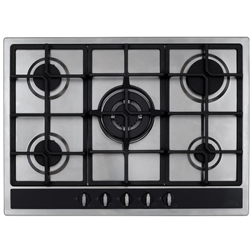 Gas CDA Stove 75cm Stainless Steel