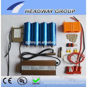 Li-ion battery 38120s 10ah cell for e-bike motor