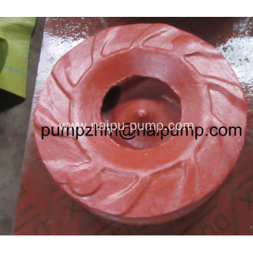 High chrome impeller for AH type horizontal slurry pumps