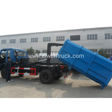 New Dongfeng Cummins 190hp 12cbm roll off  garbage truck