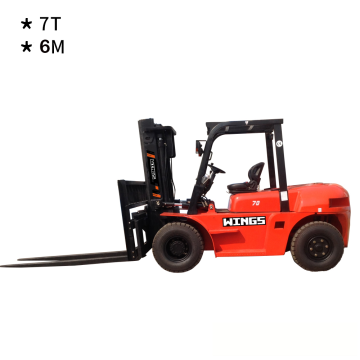 7 Tons Diesel Forklift (6-meter Lifting Height)