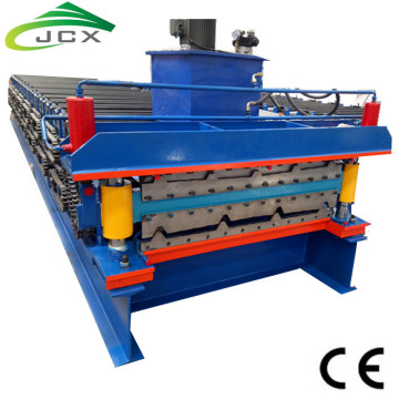Automatic steel roof roll forming machine