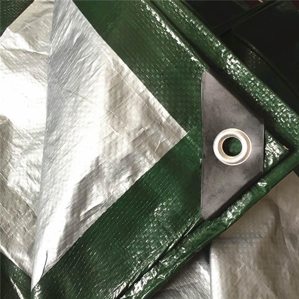 120gsm Olive Green Silver Tarpaulin