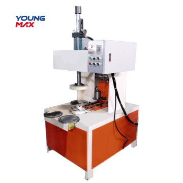 Multifunction  round metal semi automatic crimping machine
