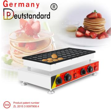 Aluminiumguss elektrische Mini Poffertjes Pan Maschine