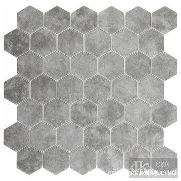 New Technology Grey Inkjet Mosaic Tile