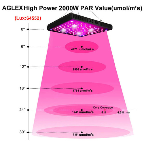 2020 Best 2000w Indoor Planting Grow Lights LED