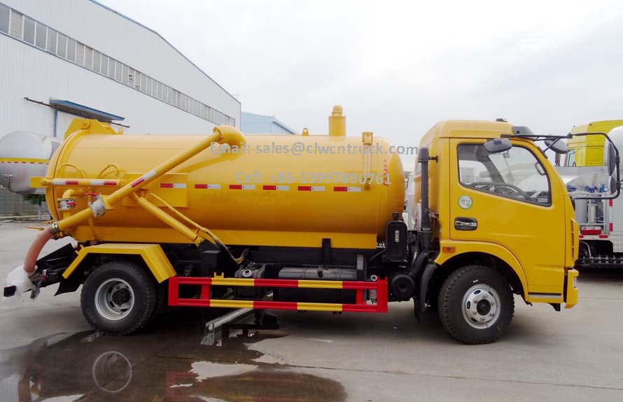 Waste Pumper Truck For Sale