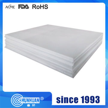 Virgin White PTFE Molded Sheet