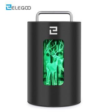 ELEGOO Mercury 3D Printer Curing Machine 405nm Resin UV Curing Box with Light Driven Turntable for LCD DLP SLA 3D Printed Model