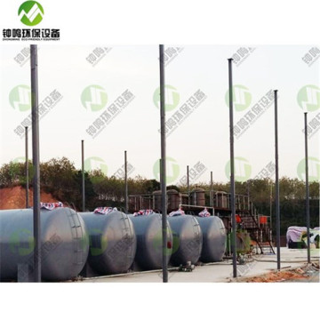 Plastic Bag Pyrolysis Batch Reactor Boiler