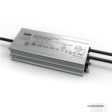 100W Nominel LED-driver 3-i-1-dæmpning.