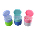 Colourful PP material teeth box retainer box dental