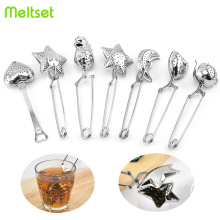 Stainless Steel Tea Strainer Reusable Tea Infuser For Tea Brewing Coffee Herb Spice Filter Teapot Kitchen Gadgets