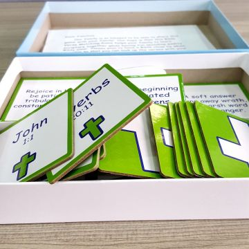 OEM Memory game card printing with box
