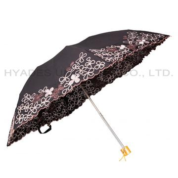 Women's Folding Embroidered Umbrella for Amazon