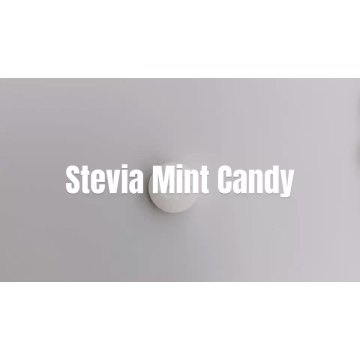Sea-salt flavor stevia tablet mint candy