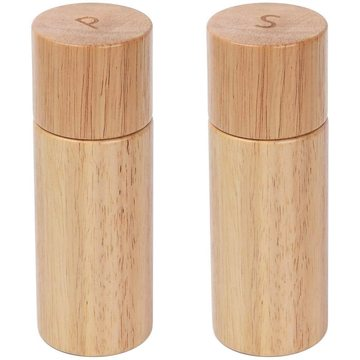 Salt and Pepper Mills Set with Ceramic Core