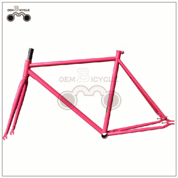 Fixed gear bike frame Colorful bicycle frame