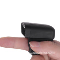 Portable Finger Ring Bluetooth 1D/2D Barcode Scanner