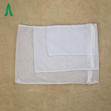 Zipper Polyester Mesh Washing Laundry Bags